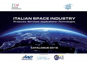 Disponibile l'edizione 2018 del Catalogo dell'Industria Spaziale Italiana