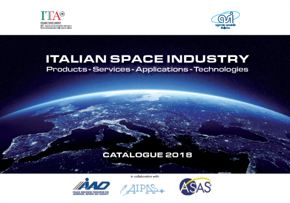 Disponibile l'edizione 2018 del Catalogo dell'Industria Spaziale Italiana