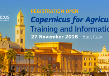 Copernicus for Agriculture: Training and Information Session