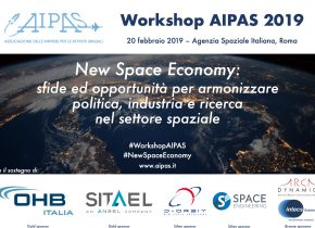 "Workshop interattivo AIPAS ""New Space Economy"" – Roma, 20 febbraio"